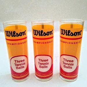 Vintage Set of 3 Wilson Highball Glasses